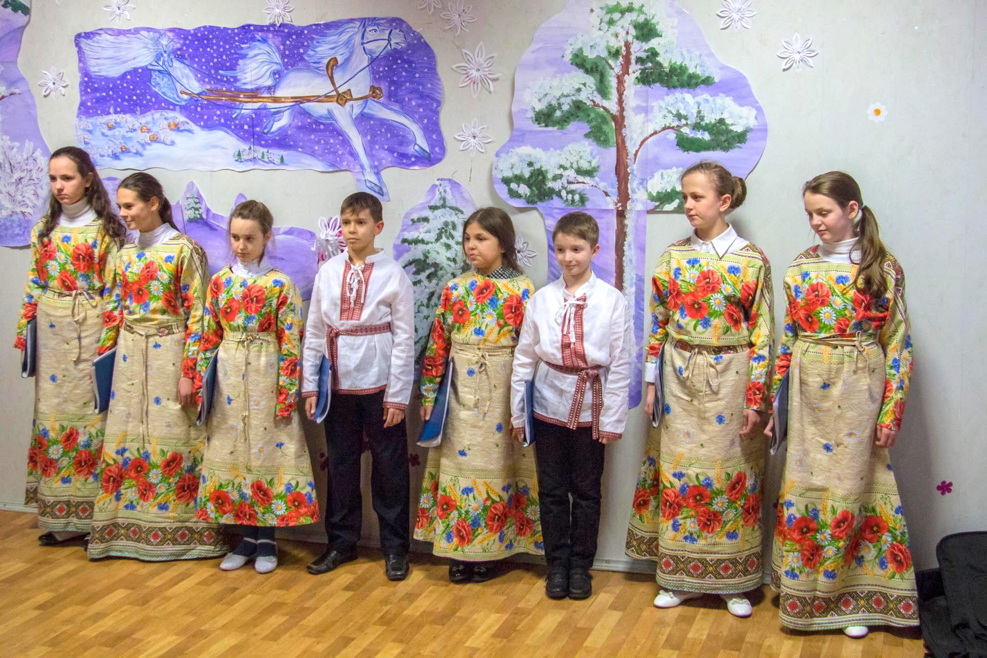 Рождество Христово на приходе Троицкого храма города Коломны (Щурово)