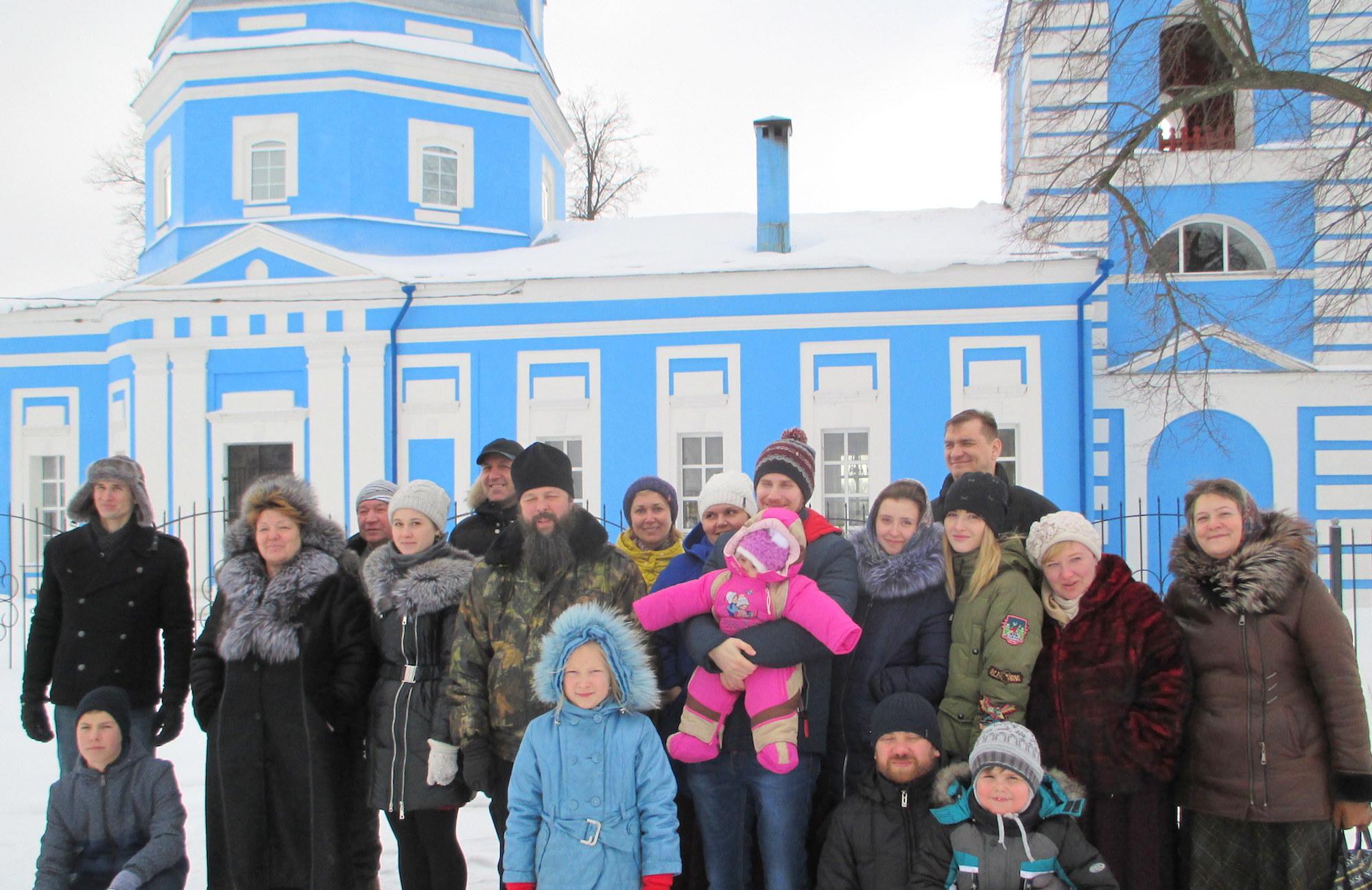 День православной молодежи на приходе Троицкого храма города Коломны (Щурово)